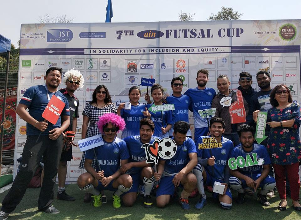 Mercy Corps has lifted the  7th  AIN Futsal Cup this year.
