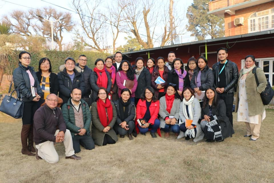AIN HR Working Group meeting held at GNI Nepal on 29 January 2019